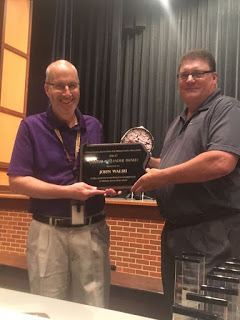 John Walsh's Outstanding Contributions Recognized by Pennsylvania Association for Middle Level Education