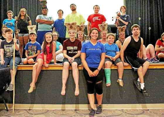 UHS graduate Karalyn Joseph Directs Special needs Theatre Group